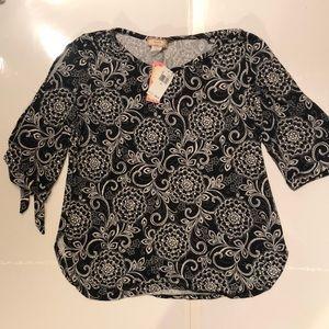 C'est La Vie blouse, size XL, NWT